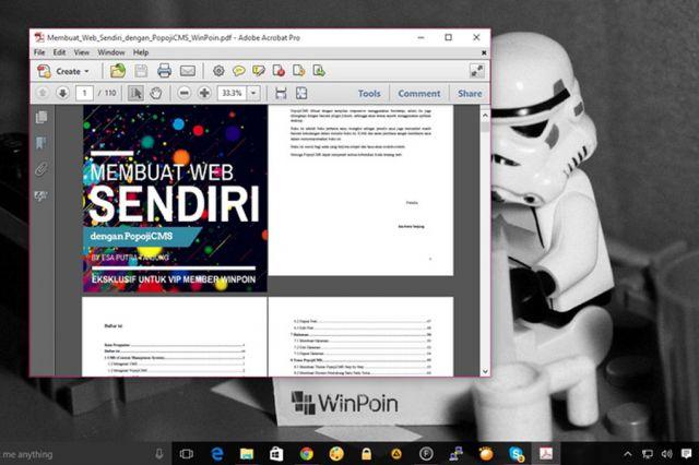 Gratis Ebook Belajar Membuat Web Sendiri dengan PopojiCMS
