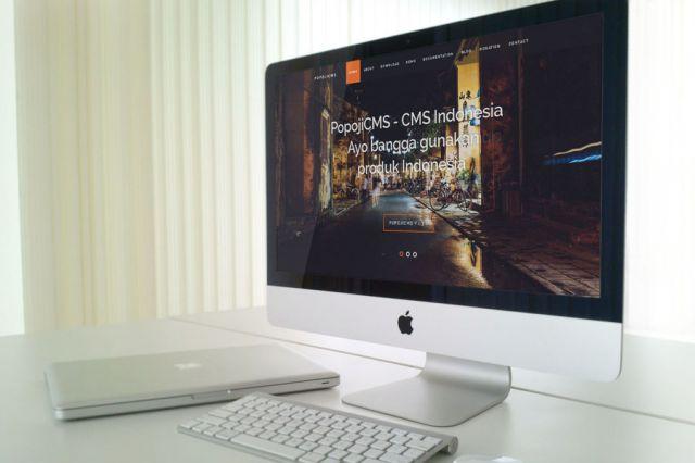 Tampilan Baru Website PopojiCMS